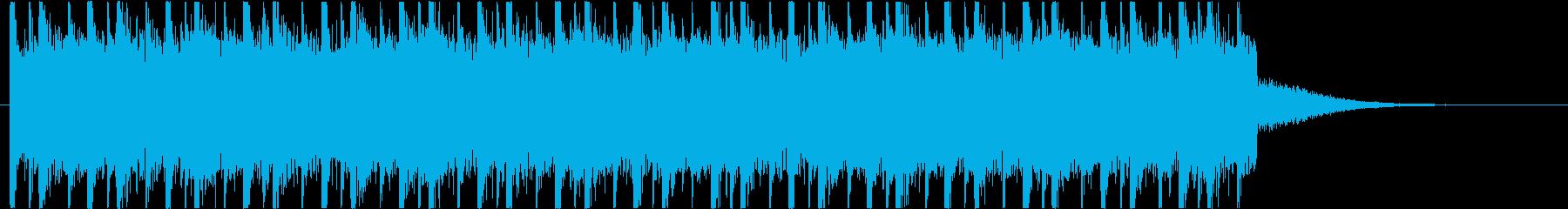お洒落でクールでゆったりなチルウェイブの再生済みの波形