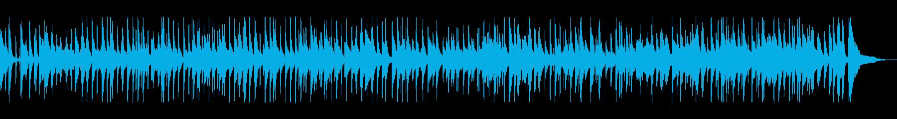 お洒落でモダンなミディアムテンポのジャズの再生済みの波形