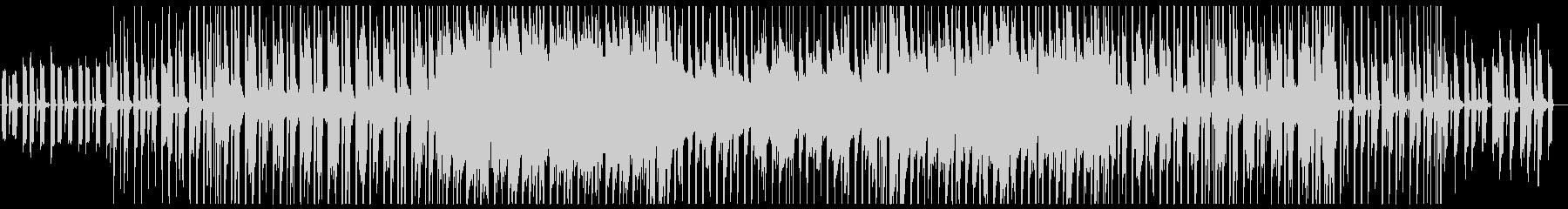 スティールパン 軽快なミディアムテンポの未再生の波形