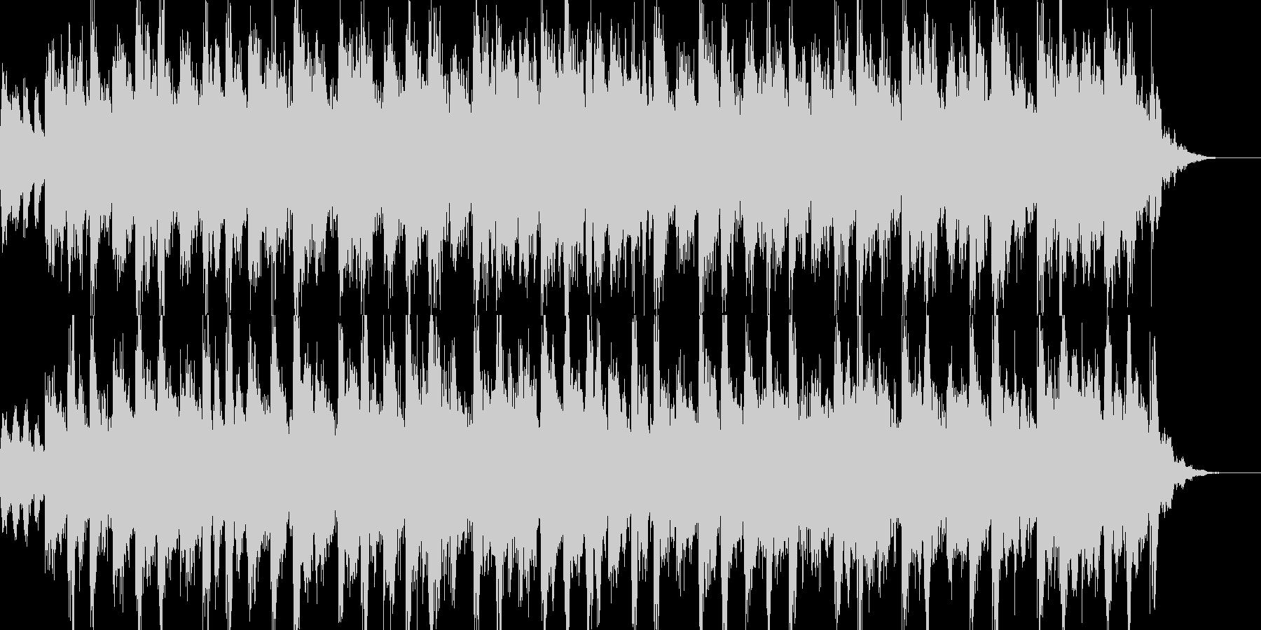 民族の曲調でシリアル系の曲の未再生の波形