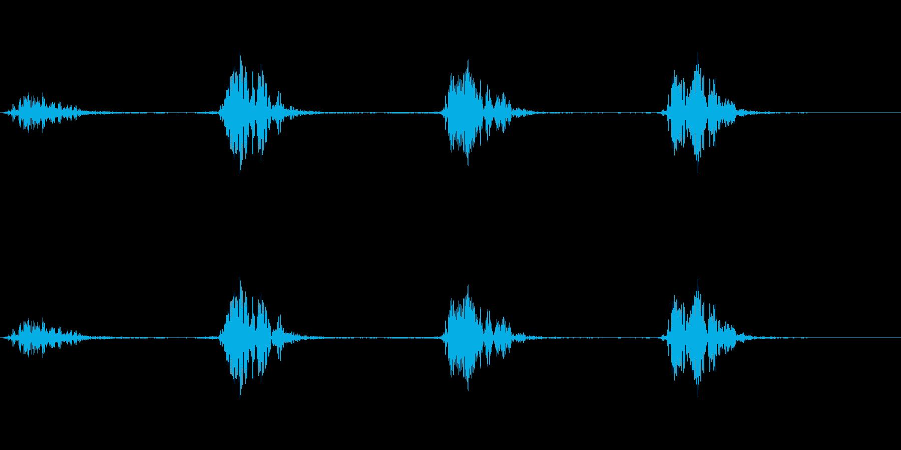 モンスター 息ハァハァ 01の再生済みの波形