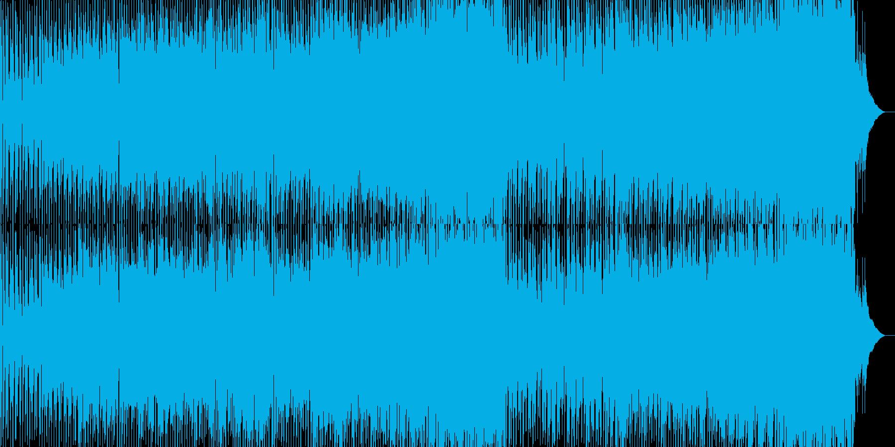 ぶらぶら気ままに散歩しているようなBGMの再生済みの波形