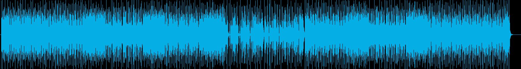 アメリカンなシンセサイザーポップテクノ系の再生済みの波形