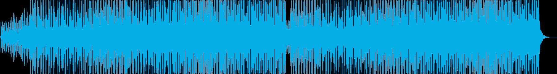 EDMショーリールフェス向けテックハウスの再生済みの波形