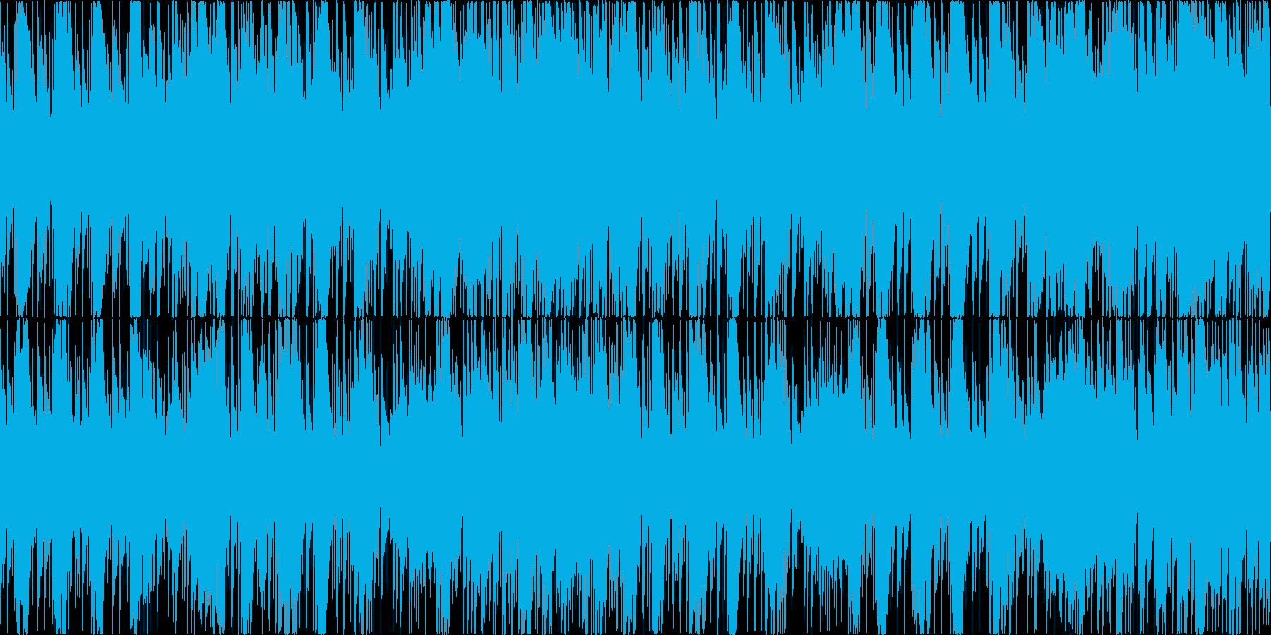 お洒落なピアノハウス楽曲。ゲーム等にの再生済みの波形