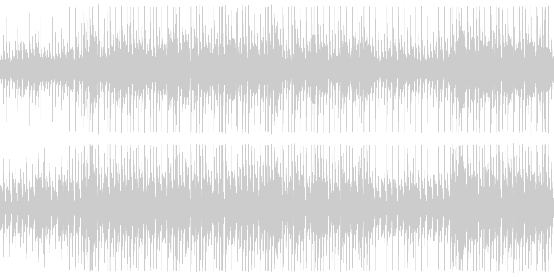 【メロ抜き】明るく爽やかなPR動画用BGの未再生の波形