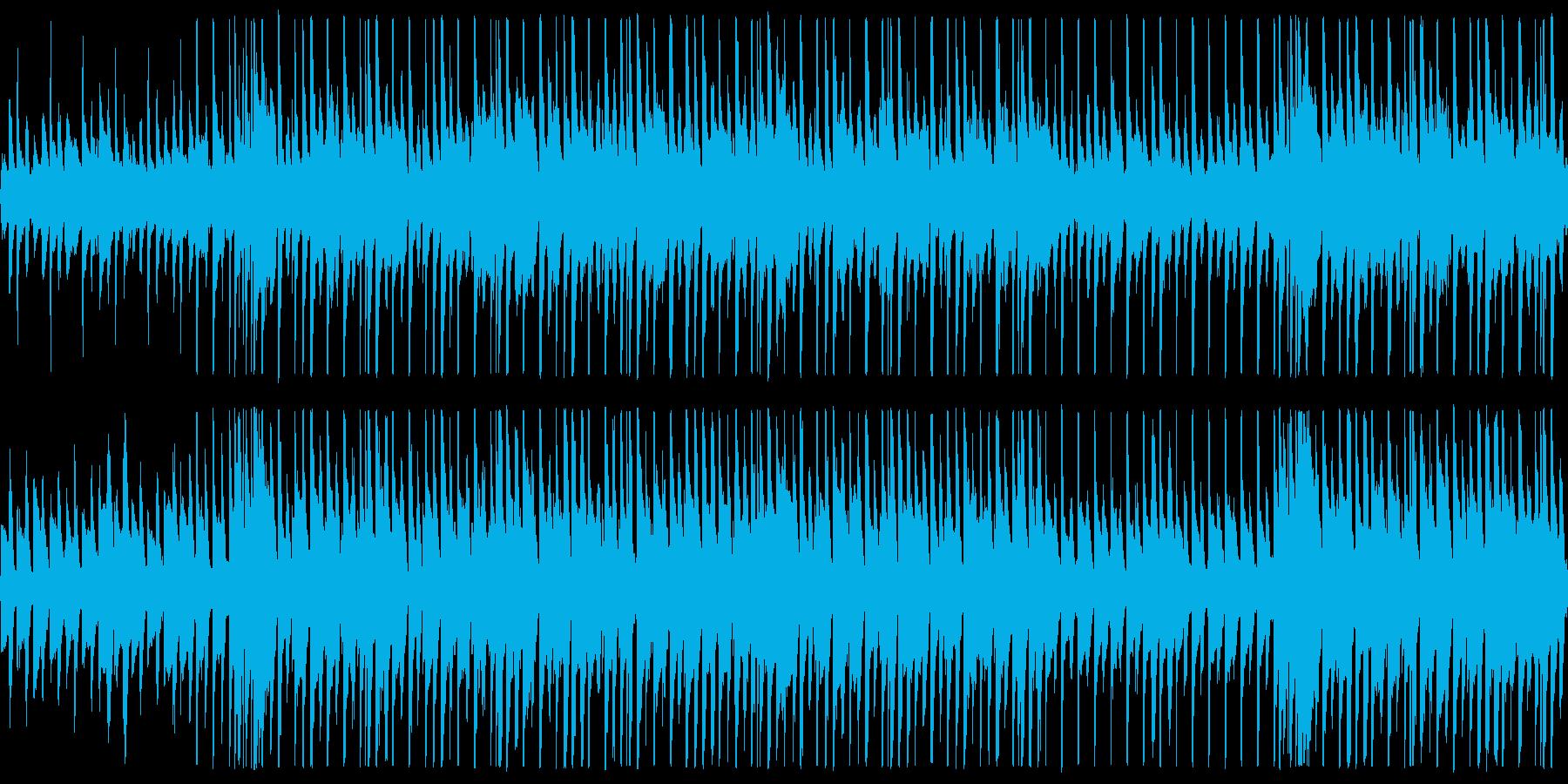 【メロ抜き】明るく爽やかなPR動画用BGの再生済みの波形