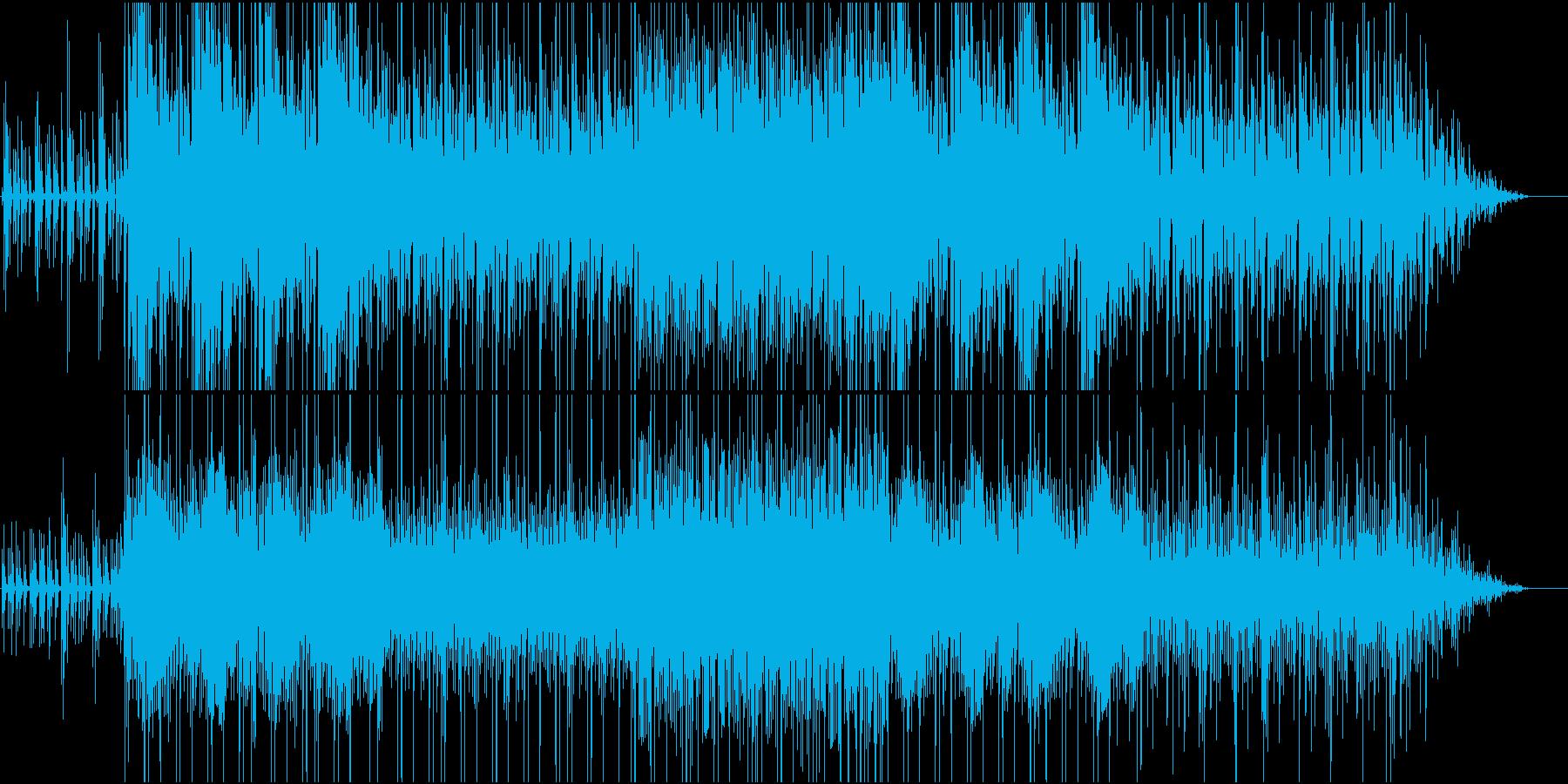 濃厚に蓄積される力の再生済みの波形