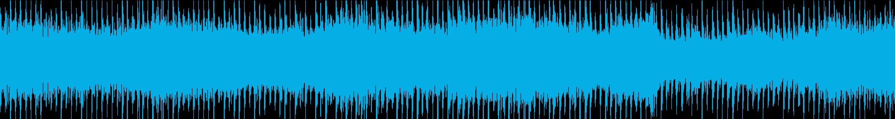 イルミネーションBGM③ビート感:ループの再生済みの波形