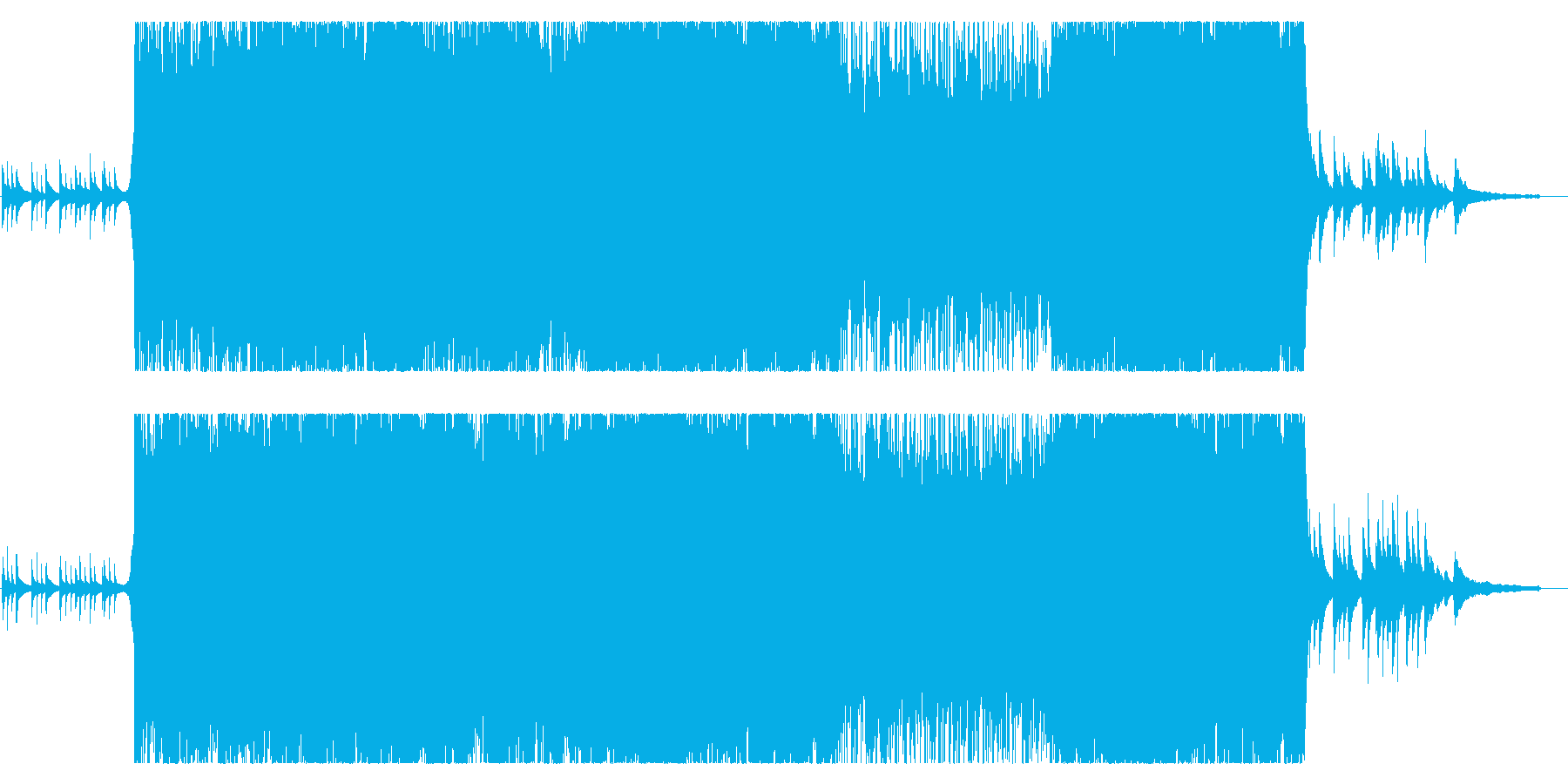 ナイトウエディングに。の再生済みの波形