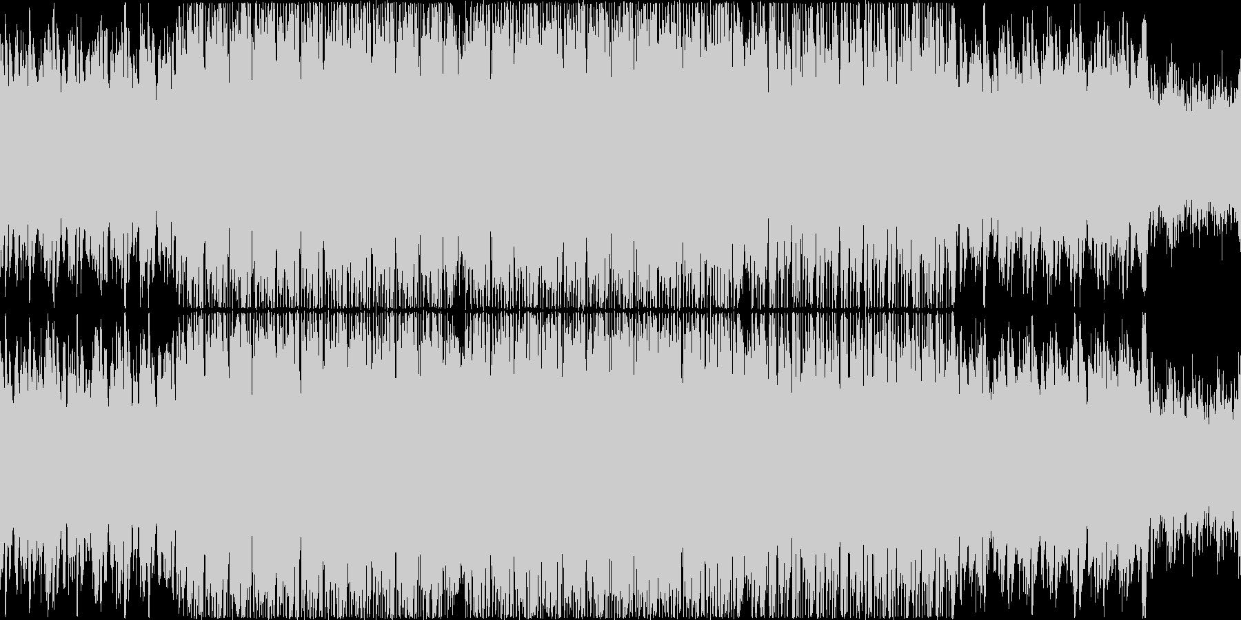 非常にリラックスしたムードのループ曲の未再生の波形