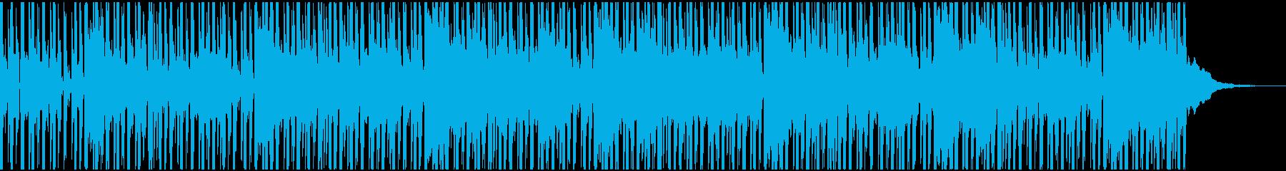 不思議な雰囲気のギター・インストの再生済みの波形