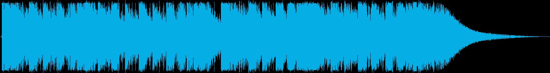 琉球音階を使ったダブステップジングルですの再生済みの波形
