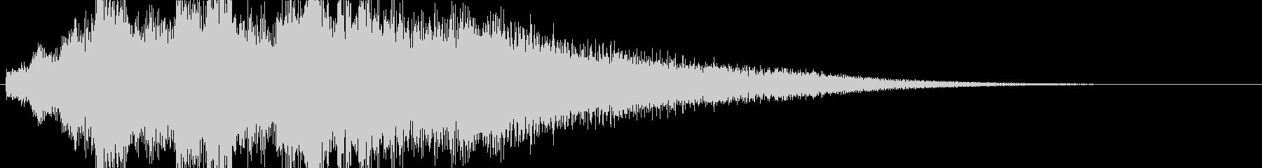 高音質♪サウンドロゴクリック音都会的の未再生の波形