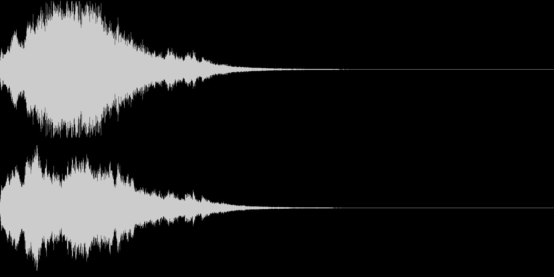 クリスマス ジングルベル キラキラ 09の未再生の波形