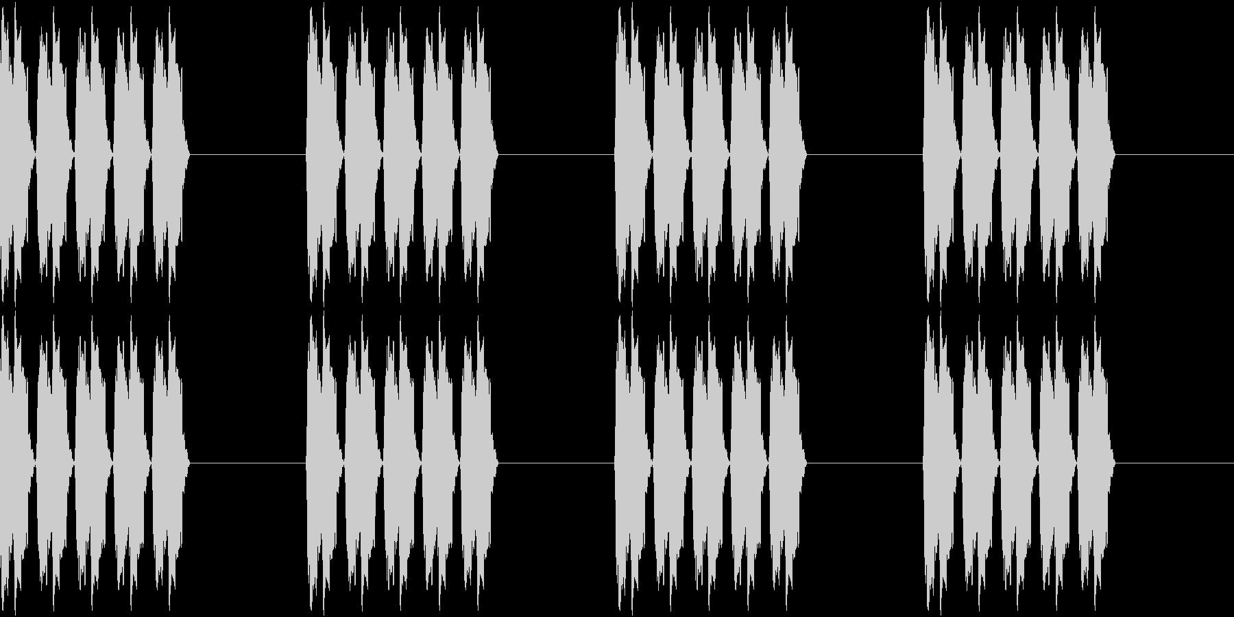 アラーム 時報 時計 着信音 ピピピピの未再生の波形