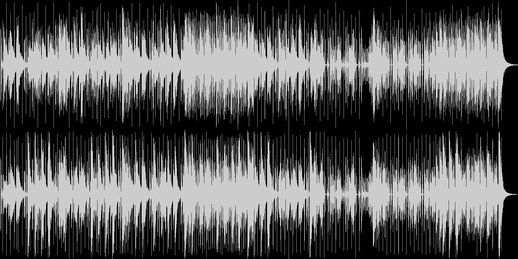 ニュース番組などのテクノ系BGMの未再生の波形