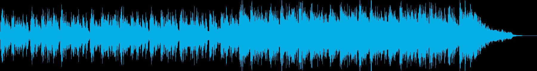 不思議な子供の声を使ったオシャレなBGMの再生済みの波形