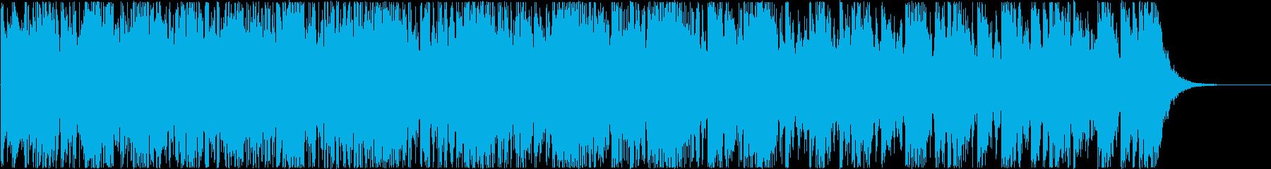 太鼓メインで作成しました。の再生済みの波形