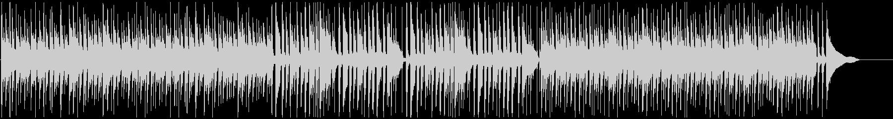 CMや映像に ピアノボサノバでまったりの未再生の波形