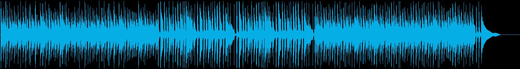 CMや映像に ピアノボサノバでまったりの再生済みの波形