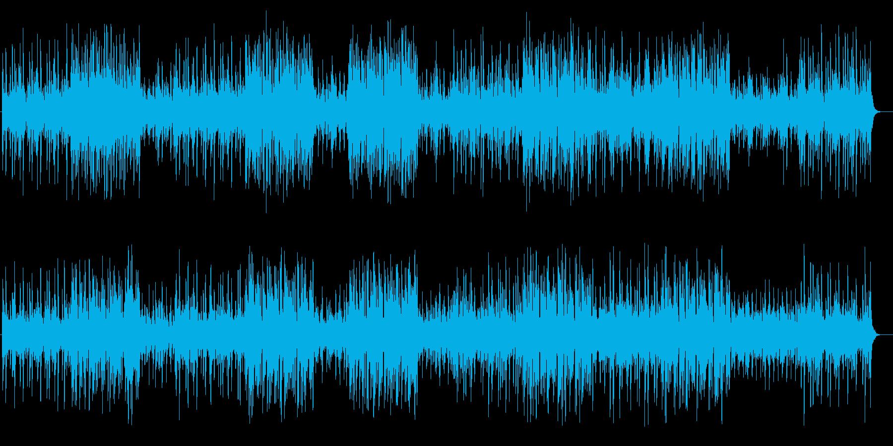 可愛らしい木琴のファンタジーポップの再生済みの波形