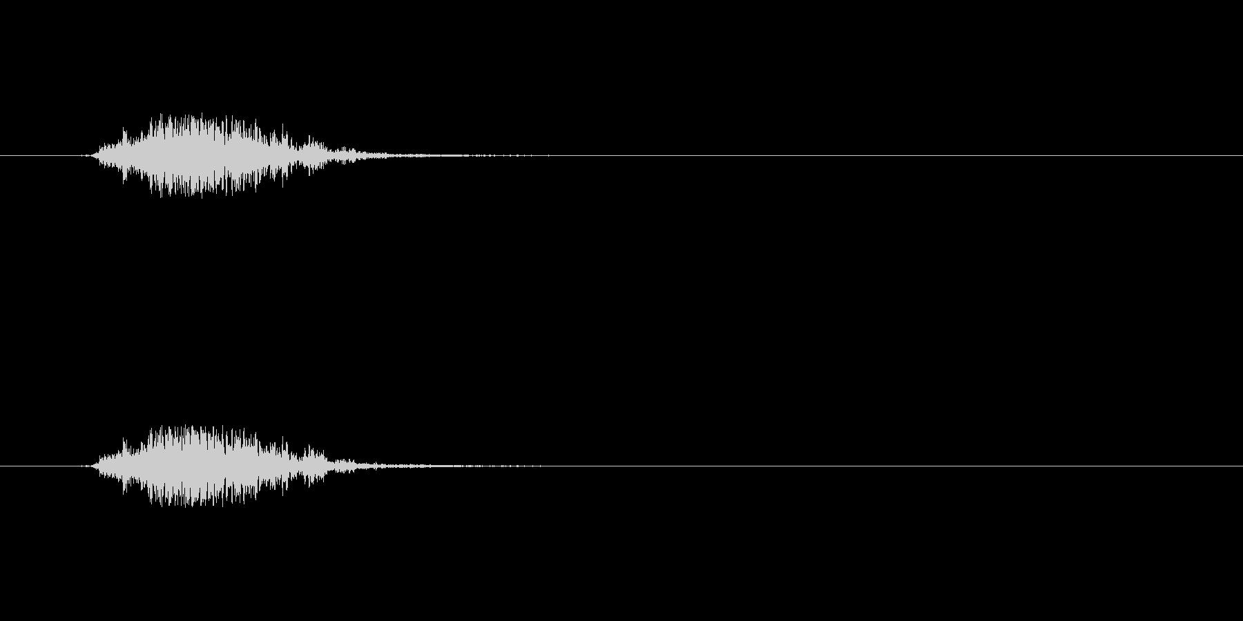 【モンスター02-01】の未再生の波形