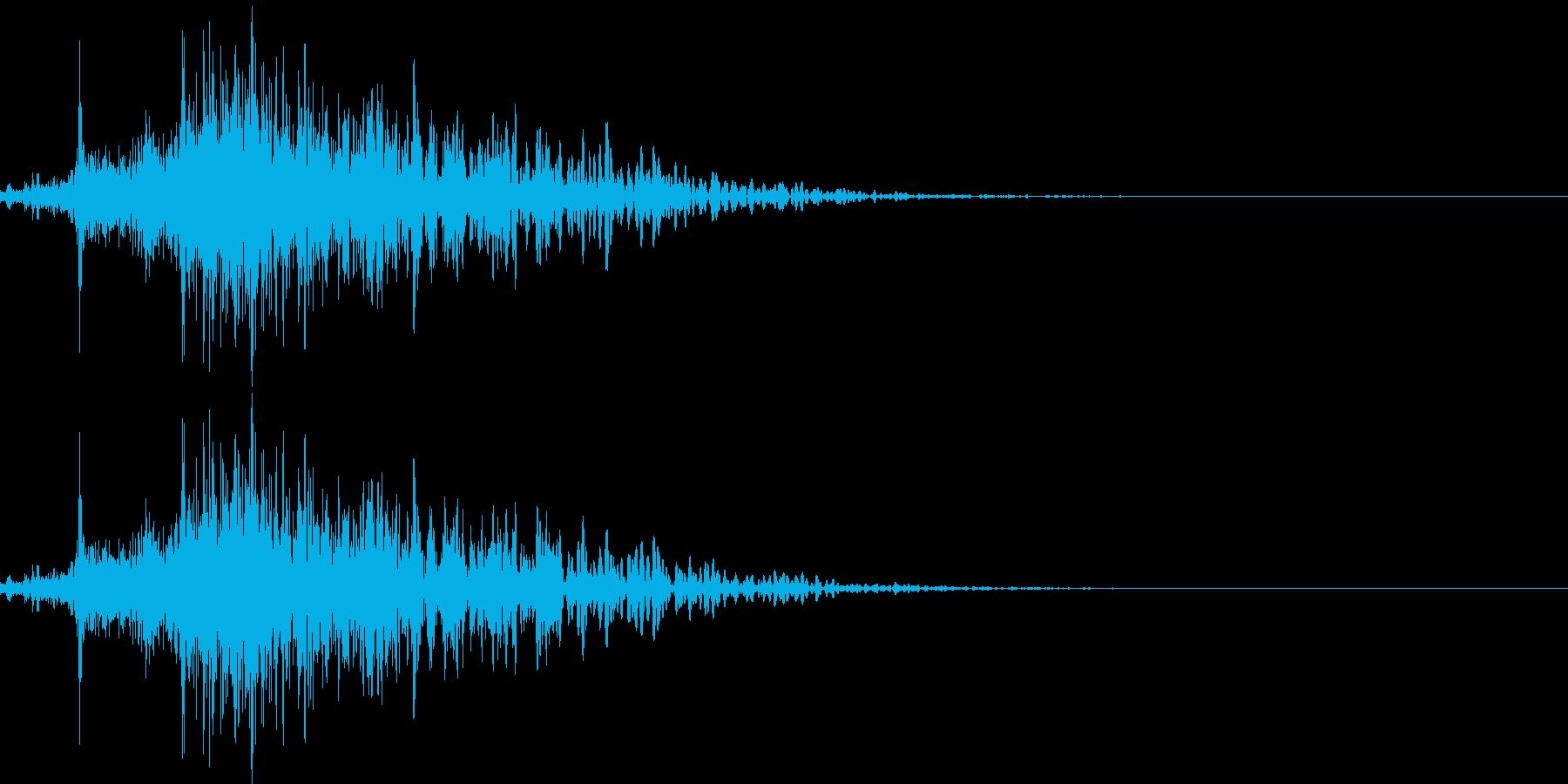 174_通り過ぎる8の再生済みの波形