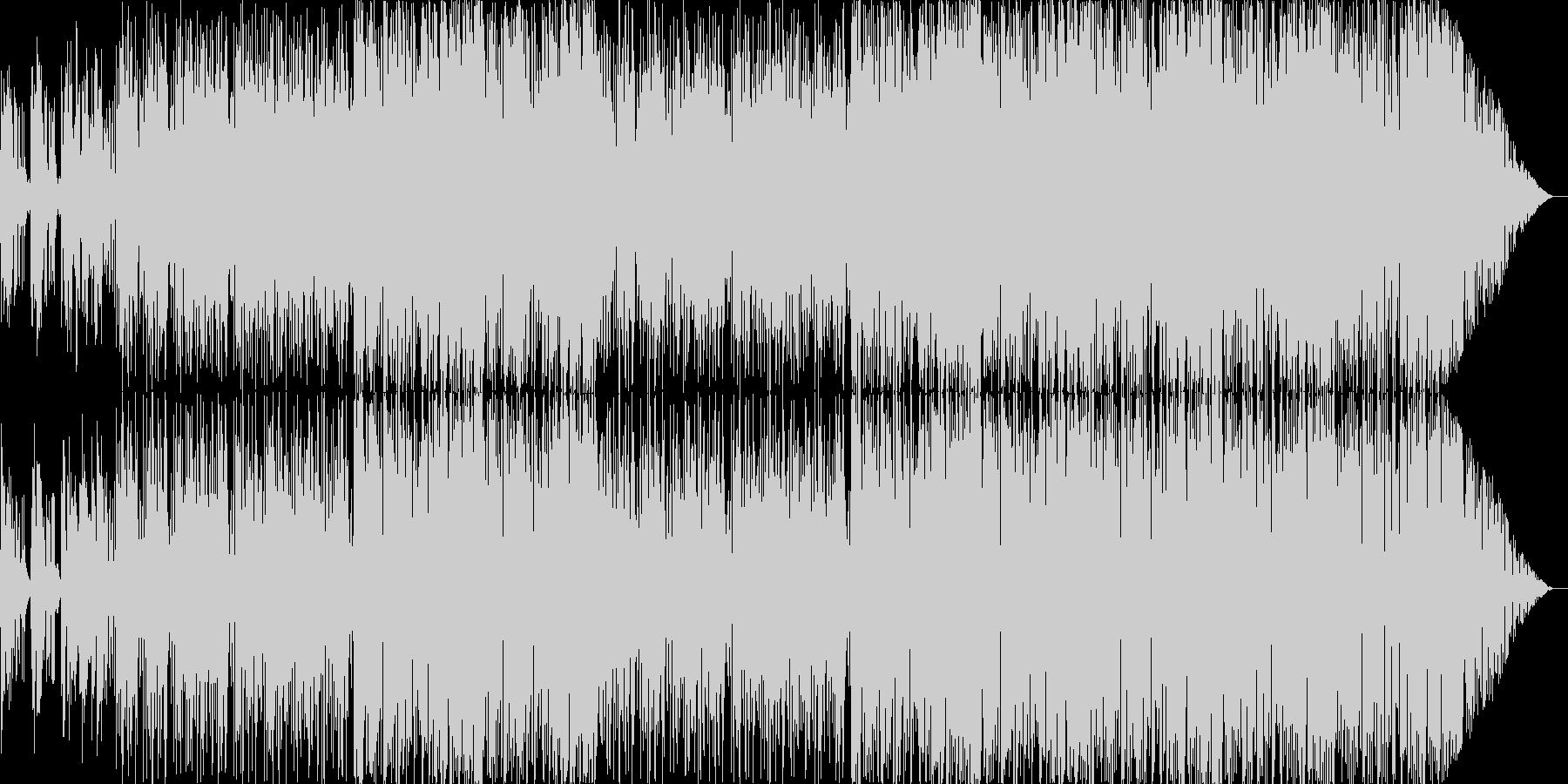 夏のさわやかなBGMの未再生の波形