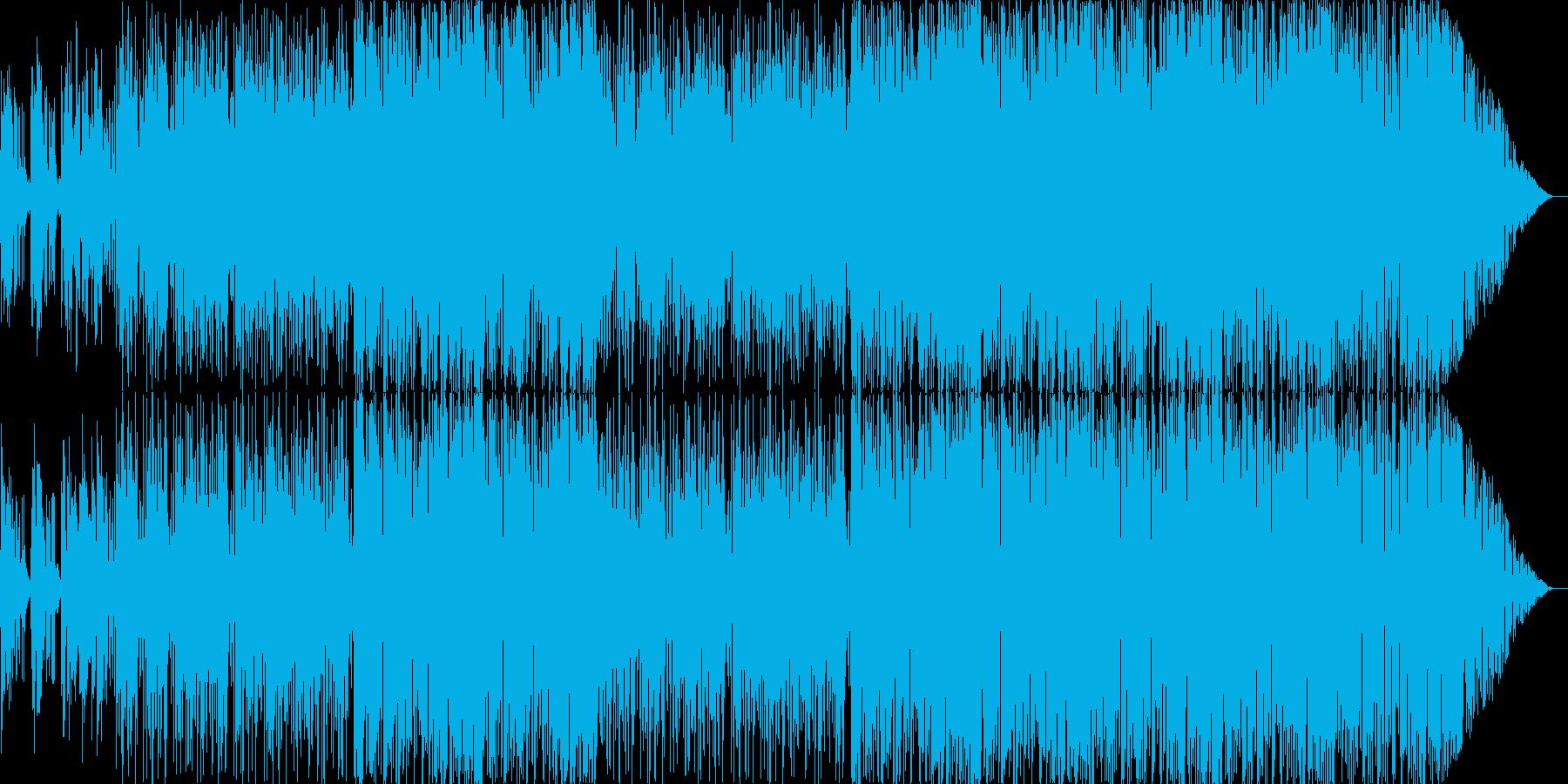 夏のさわやかなBGMの再生済みの波形