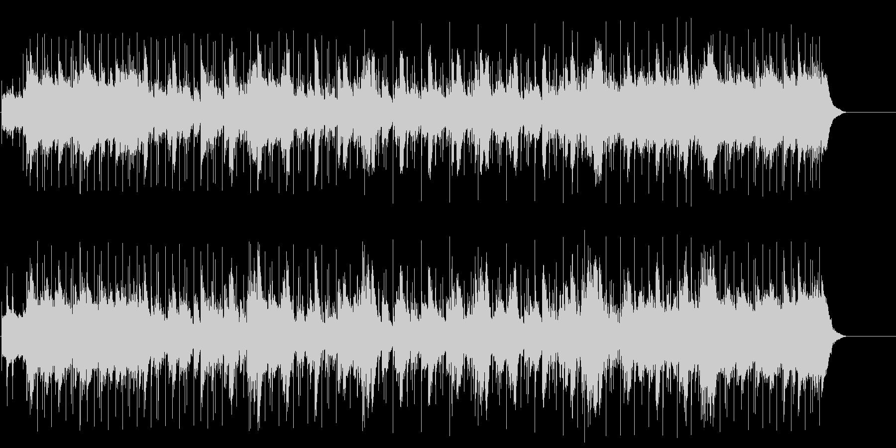 ジャジーな夜のアダルトなマイナーポップの未再生の波形