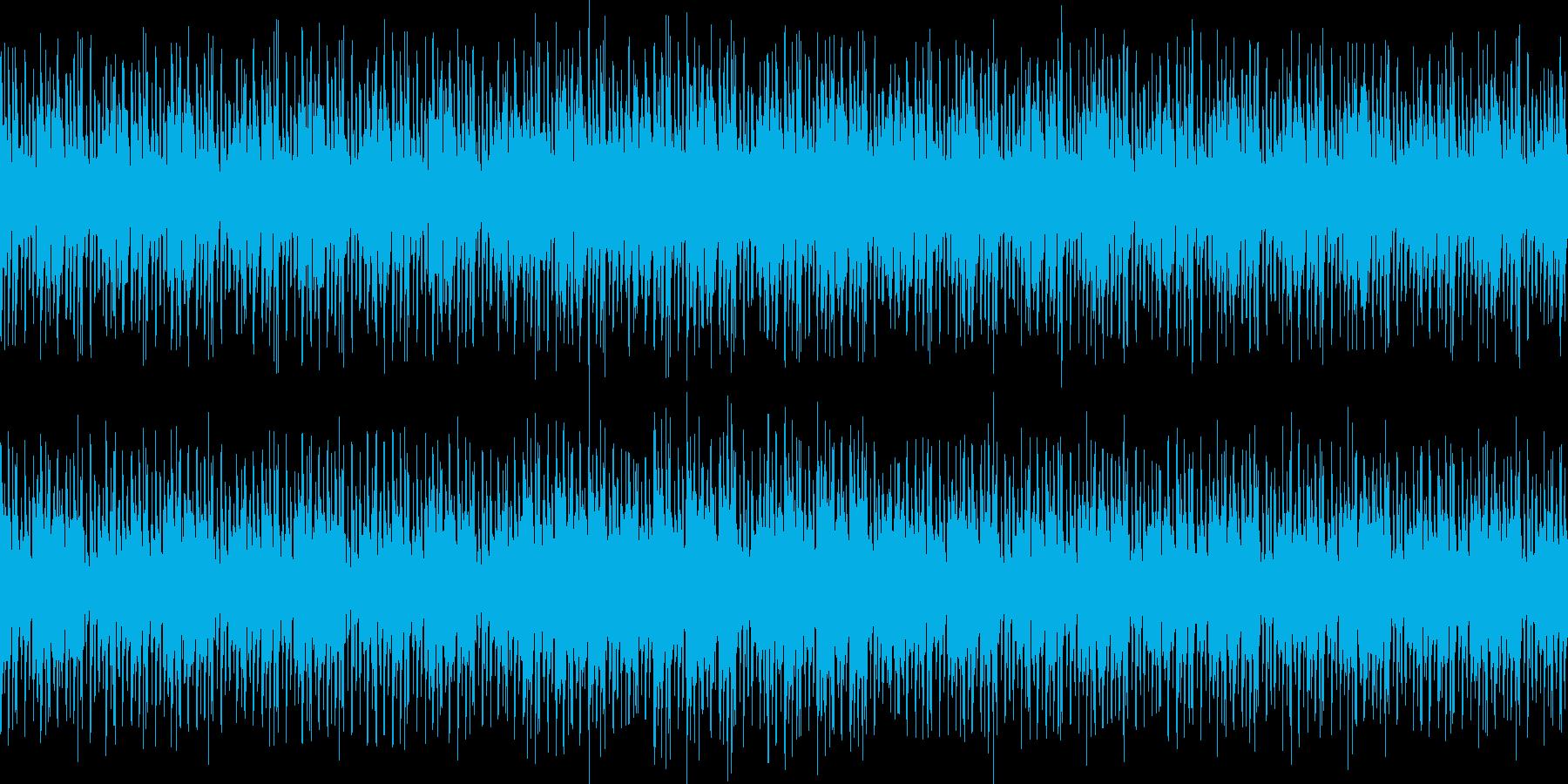 大人でジャジーなしっとりBGM_LOOPの再生済みの波形