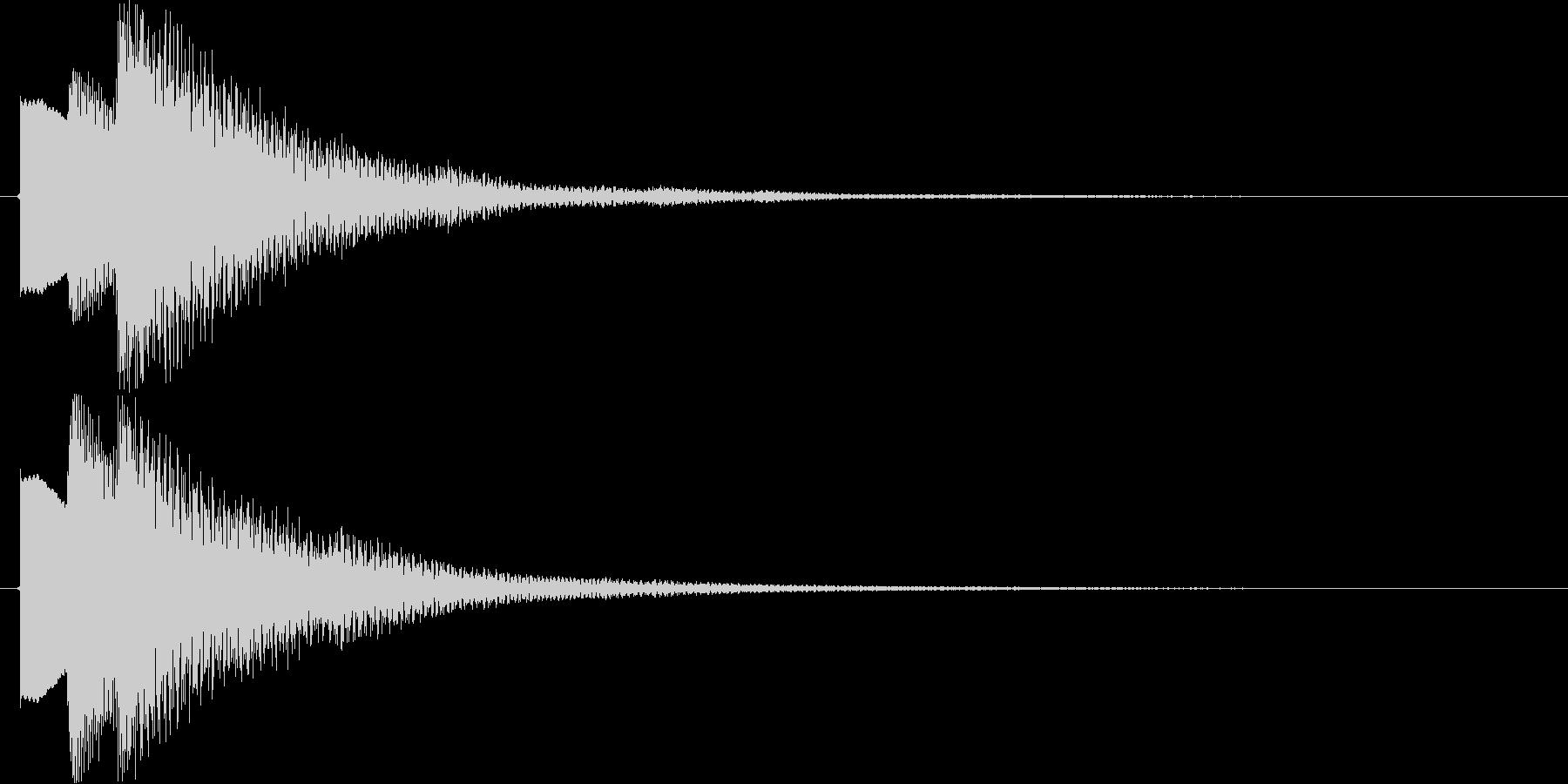 タ↑ラ↓ラン↑(キラキラ、STG)の未再生の波形