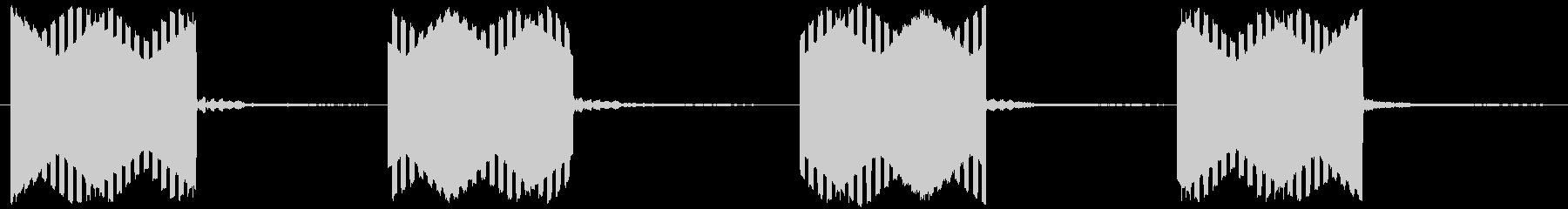電話の音(固定電話)の未再生の波形