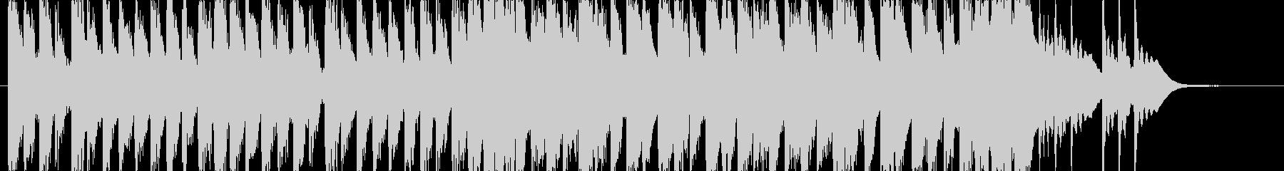 ポップでキュートなキラキラエレクトロニカの未再生の波形