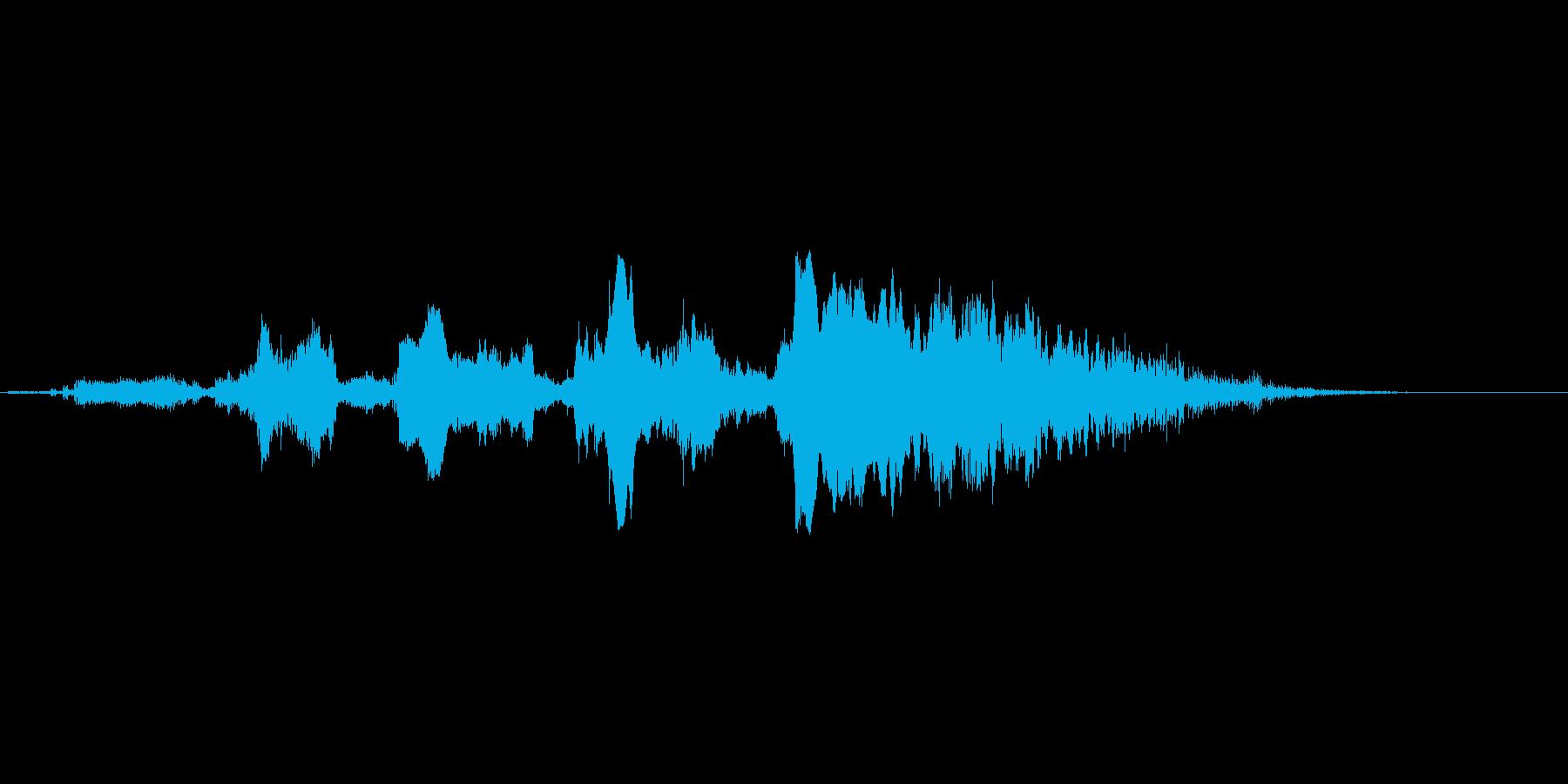 おーばーけーだーぞーの再生済みの波形