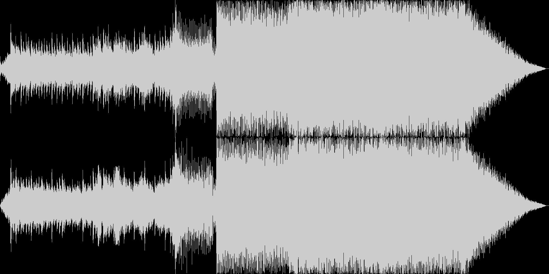爽やかなで壮大なオーケストラトランスの未再生の波形