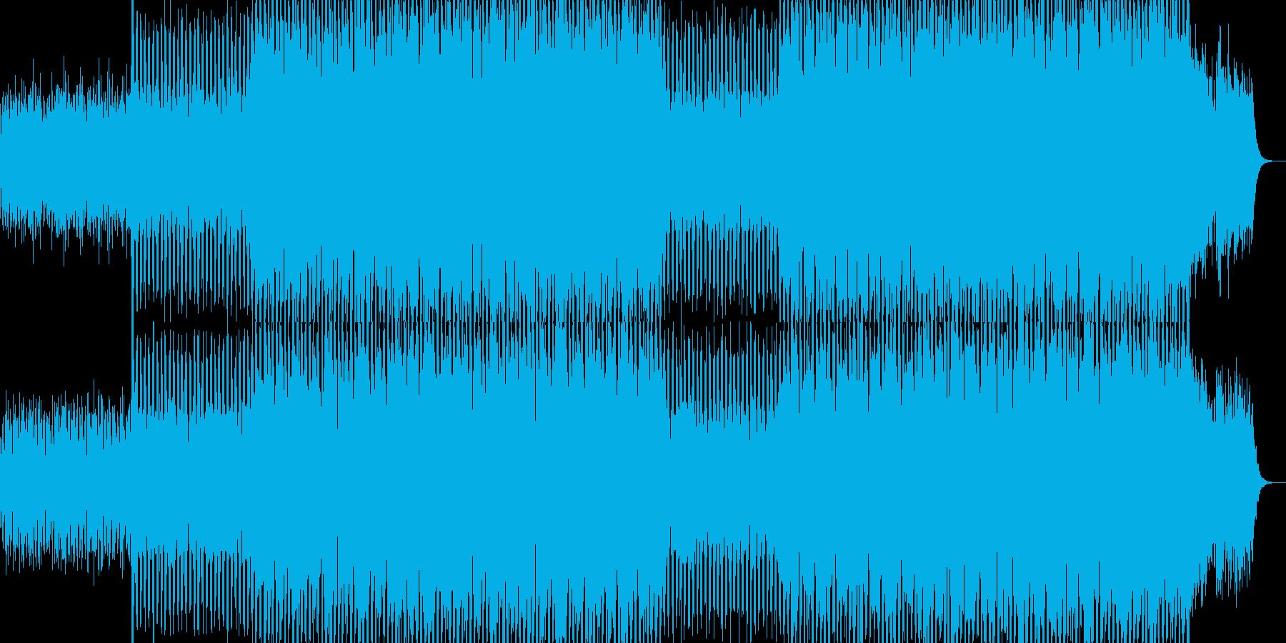 EDMポップで明るいクラブ系-73の再生済みの波形