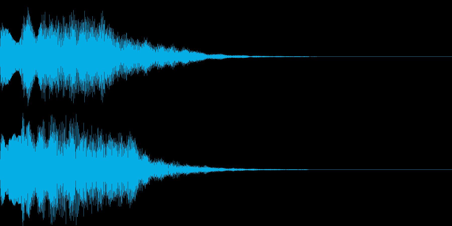 不思議な音09の再生済みの波形