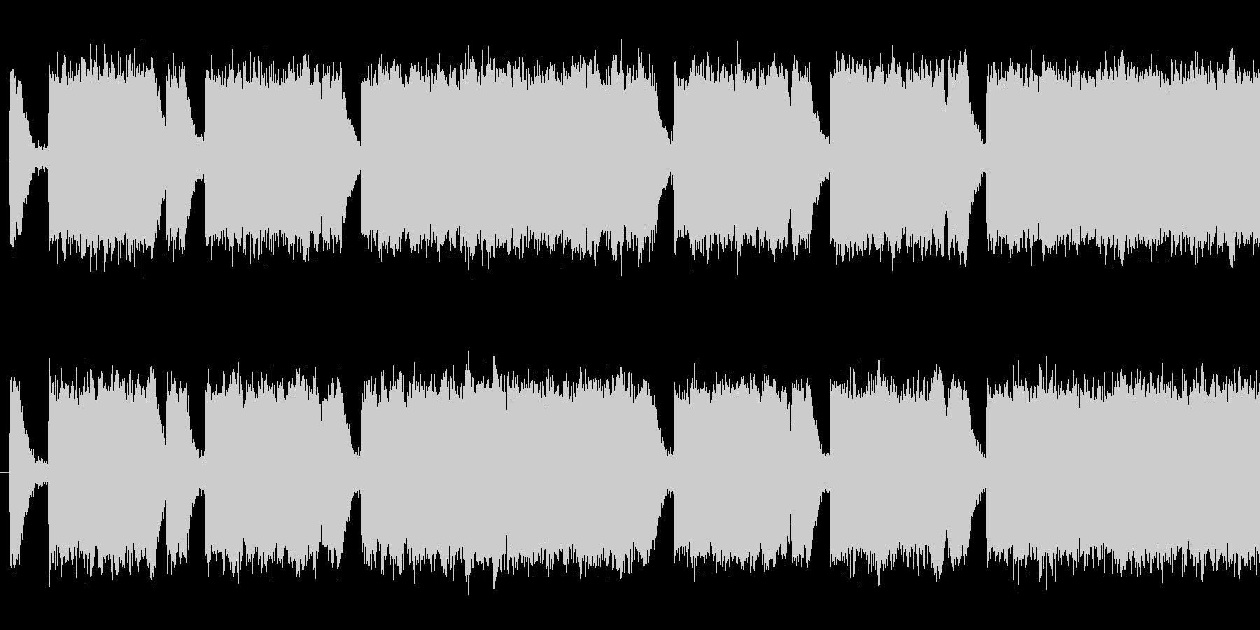 ダークな雰囲気のあるループシンセの未再生の波形