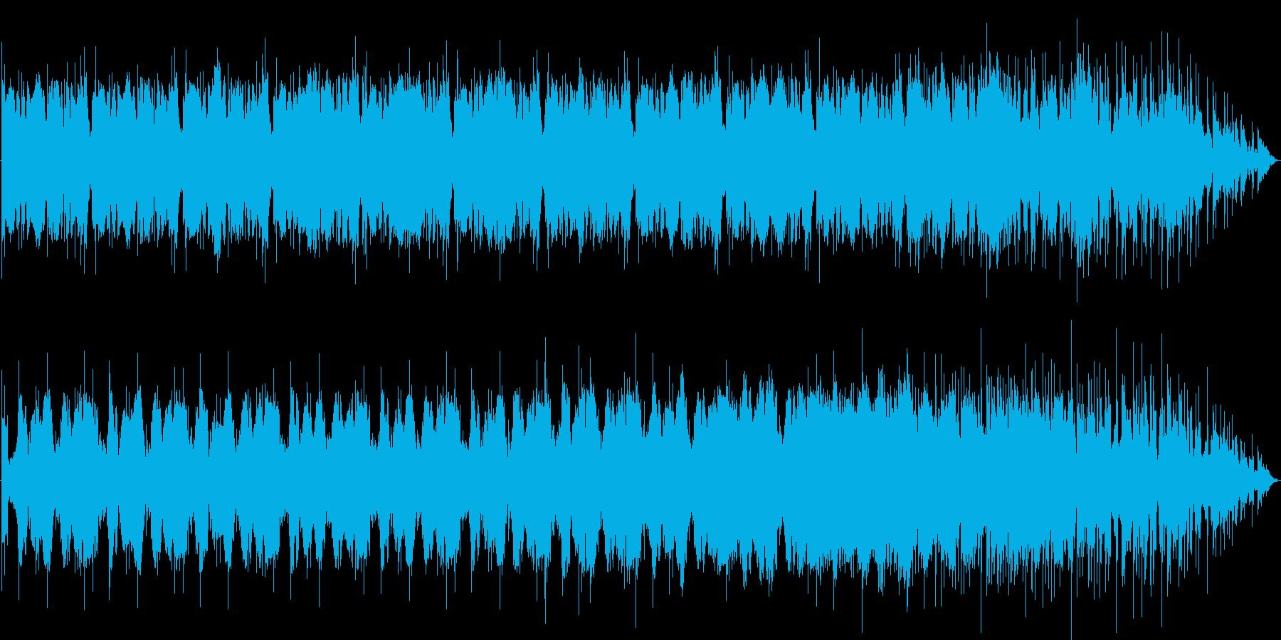 不気味で奇妙なBGMですの再生済みの波形