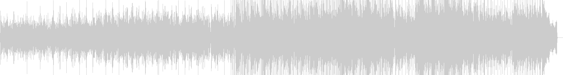 エレクトリックピアノが印象的なバラードの未再生の波形