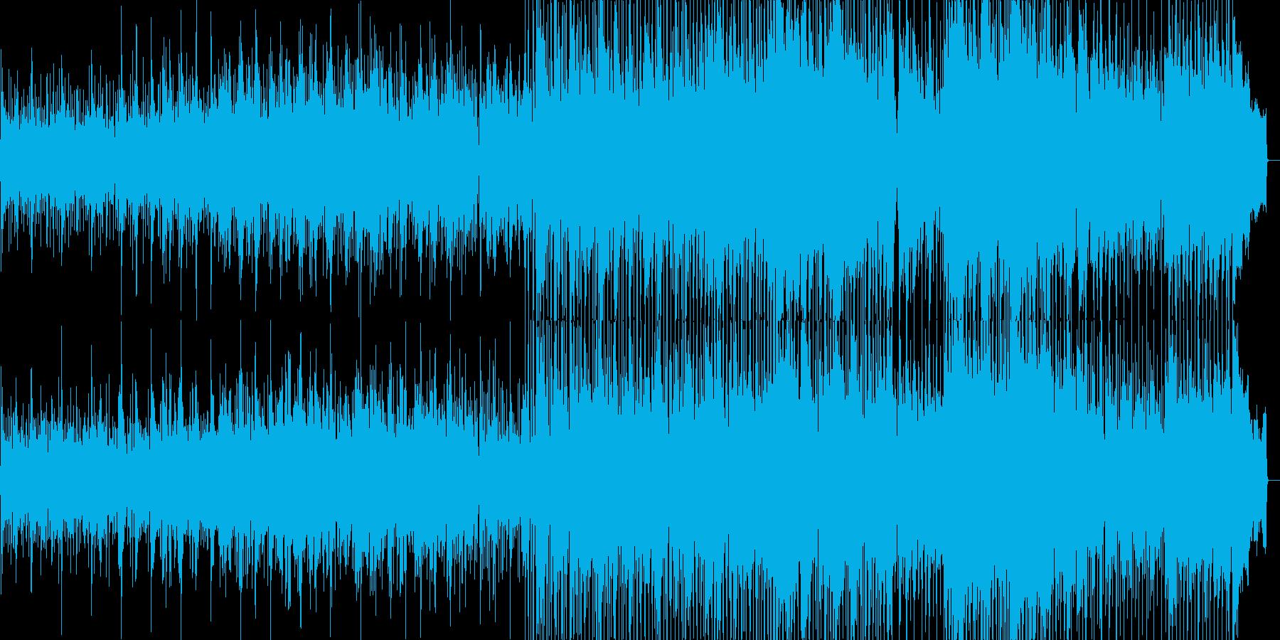 エレクトリックピアノが印象的なバラードの再生済みの波形