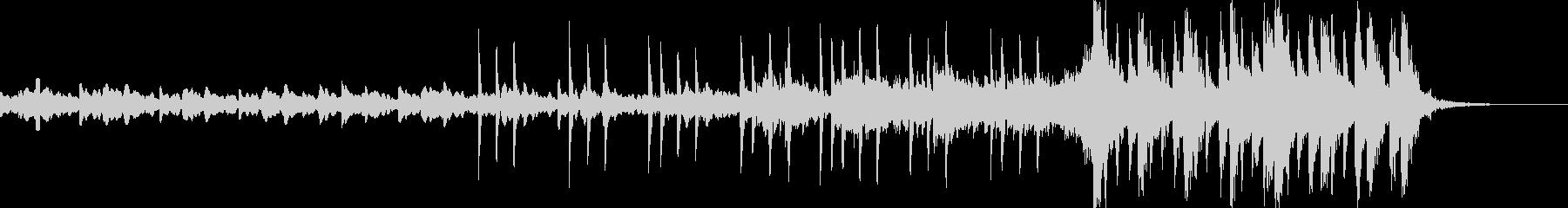 30秒動画用のオープニング音楽の未再生の波形