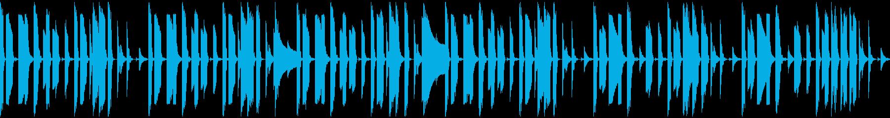 元気な8bitゲーム音楽【ループ素材系】の再生済みの波形