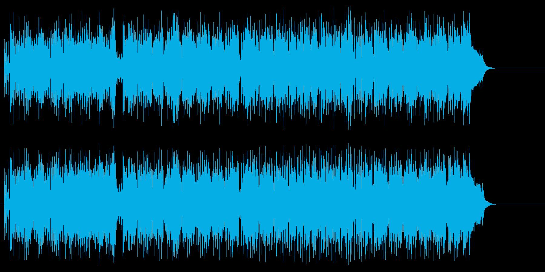 胸弾む、青空広がるポップスの再生済みの波形