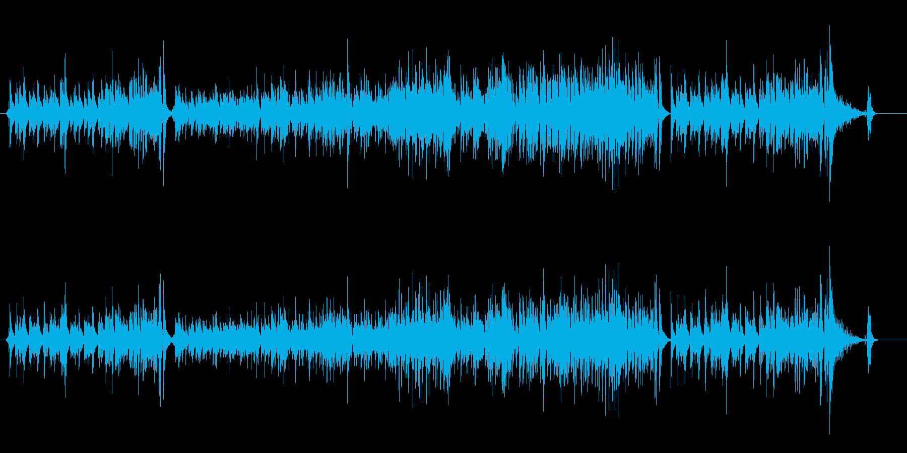 軽快なピアノ・トリオ/ジャズの再生済みの波形
