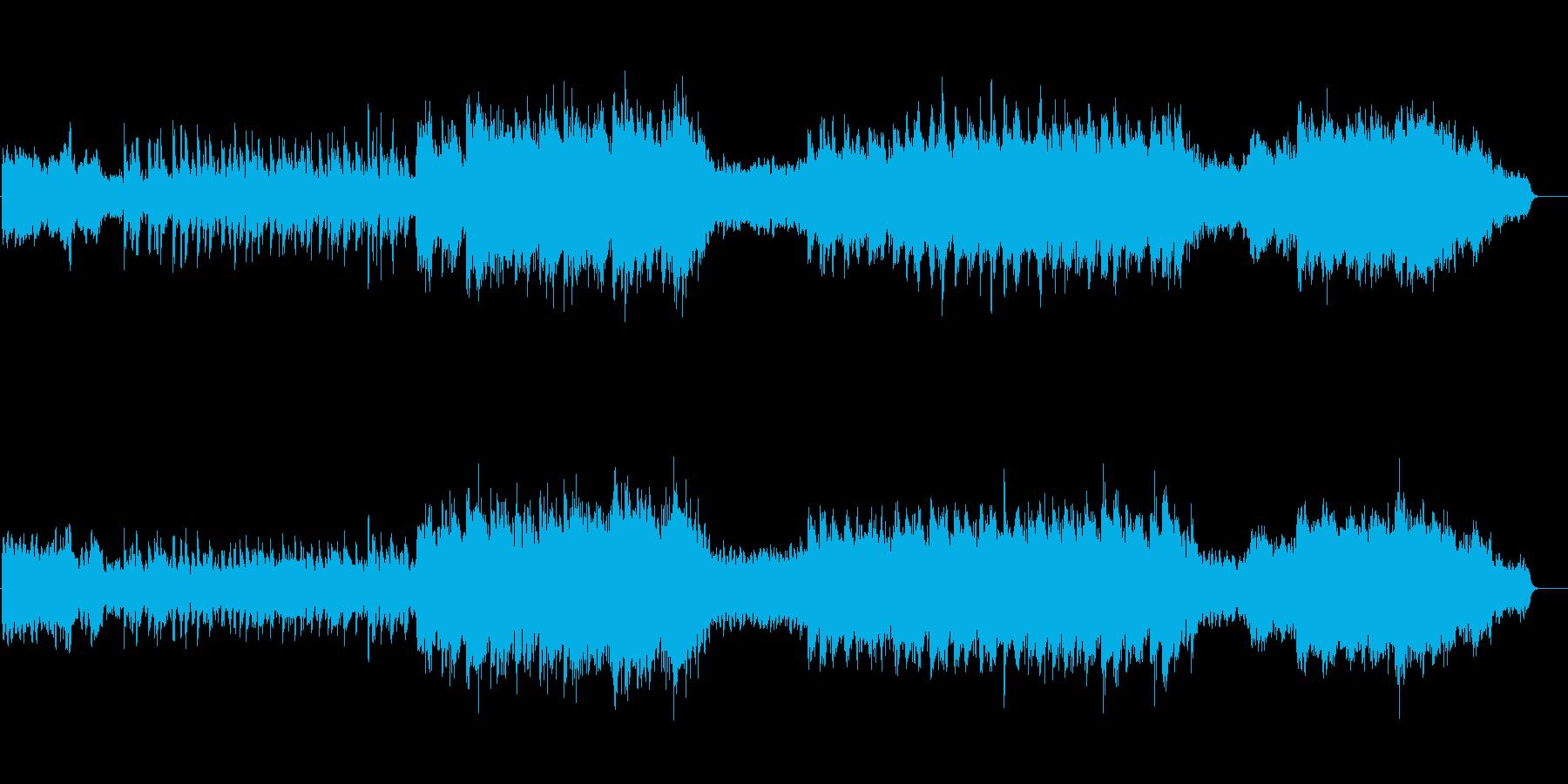 [冬] きよしこの夜(クリスマスソング)の再生済みの波形