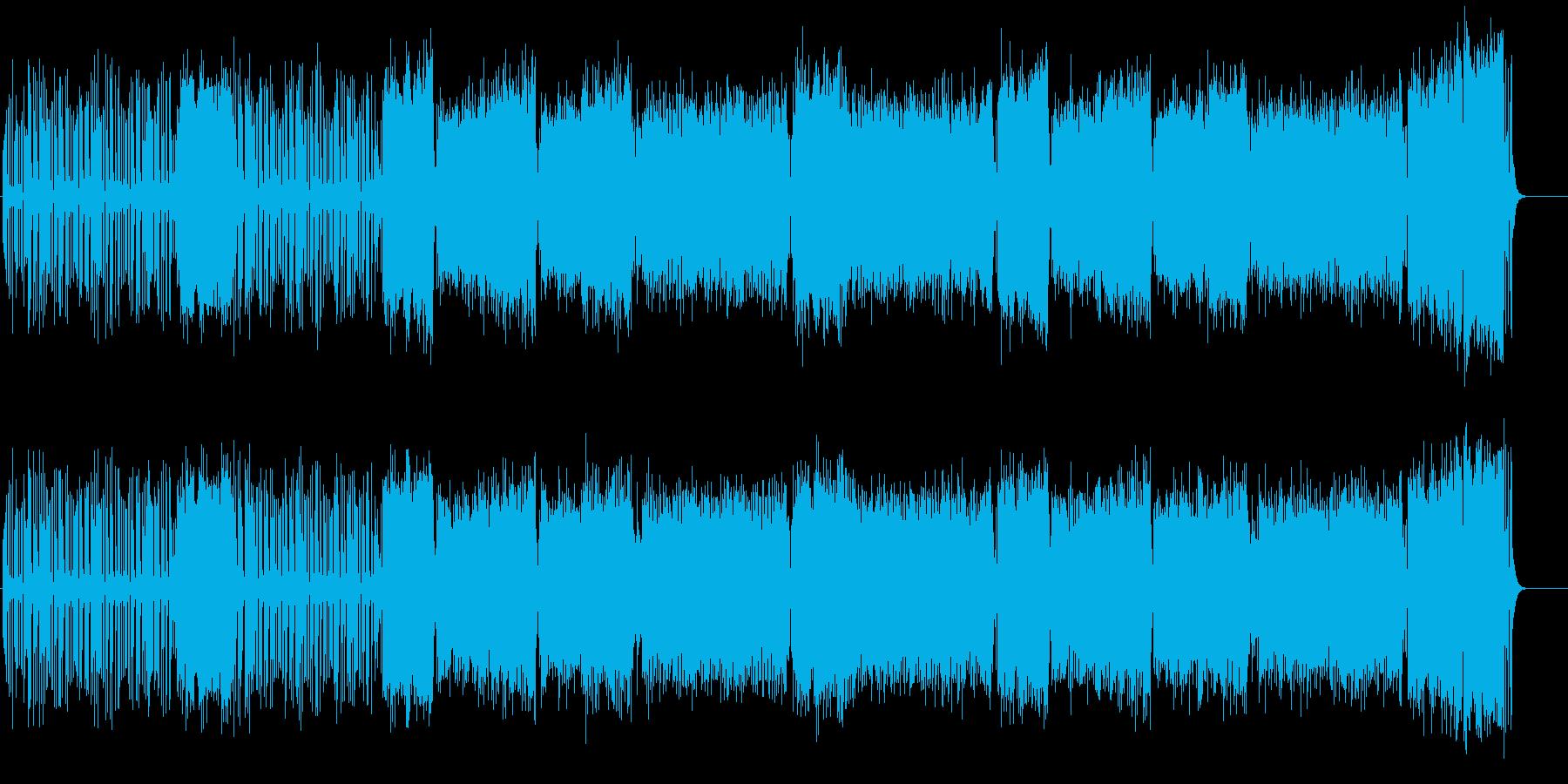 楽しきかなブロードウェイ・ミュージカル風の再生済みの波形