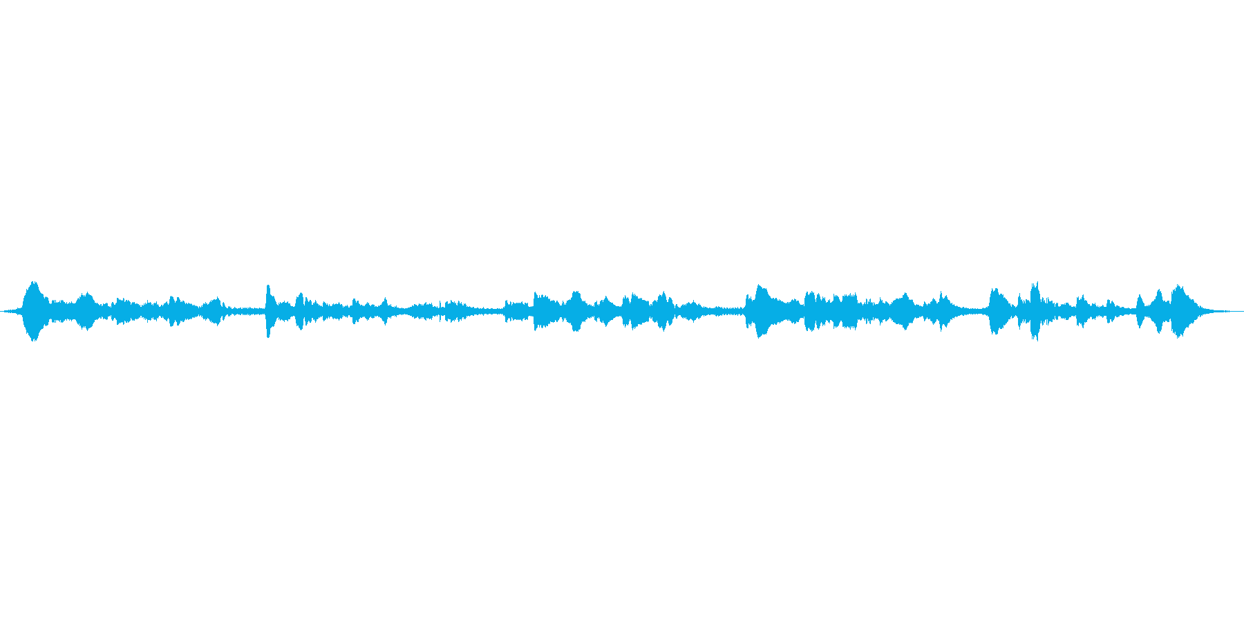 (童歌)の再生済みの波形